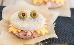Crazy cute and healthy kids food for Halloween!