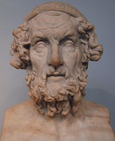 Homer is the author of the Iliad and the Odyssey, and is revered as the greatest of ancient Greek epic poets. These epics lie at the beginning of the Western canon of literature, and have had an enormous influence on the history of literature.  When he lived is unknown. Herodotus estimates that Homer lived 400 years before his own time, which would place him at around 850 BC
