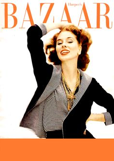Suzy Parker. Photo by John French. Harper´s Bazaar, January 1957.