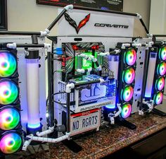 Building A Gaming Pc 16044142411279406 - PC modding Source by fotograafmarc Gaming Computer Setup, Best Gaming Setup, Best Gaming Laptop, Computer Build, Gaming Room Setup, Pc Setup, Gaming Pcs, Custom Computer Case, Gamer Room