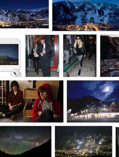Night Over Aspen  by Murray Moss