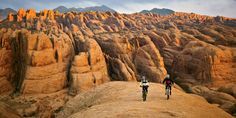 Cycling Moab