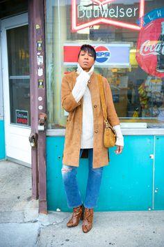 seventies suede coats