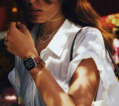Apple Watch Hermès simple tour 38 veau Swift