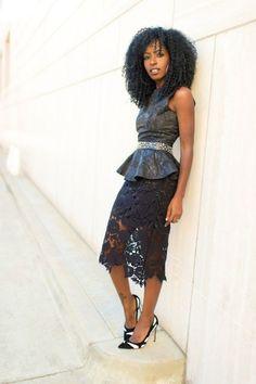 Look! Кружевная юбка! 0