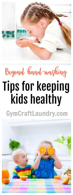 How to keep your active kids healthy and germ free.