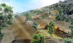 Peru-based firm Cheng Franco Arquitectos have revealed plans for a sustainable resort that will sit high in the Peruvian Amazon's cloud forest. Located inTarapoto (City of Palms), the site of the resort is a well-known starting point for travelers looking to trek through the Amazon rainforest. The prefabricated hexagonal structures incorporate green building strategies, and they're designed to allow for easy expansion in the future.