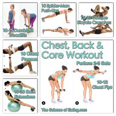 Increase the strength and definition of the chest and back muscles in one single workout.