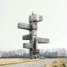 "Filip Dujardin's Impossible Architectural Photography. Prepared to have your mind blown. Filip Dujardin's set of structurally impossible architecture photographs will have you looking at every detail in search of those details that are basically implausible. Working with a set of photos of real buildings in and around Ghent, Belgium, and using digital collaging techniques, the photographer created a mind-dazzling collection of photos entitled ""Fictions""."