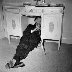 Salvador Dali in London, 1959