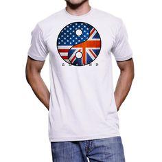Yinyang UK USA T-Shirt for Multinational People Minimal Wardrobe, Capsule Wardrobe, Self, Lifestyle, Cotton, Mens Tops, T Shirt, Stuff To Buy, Clothes