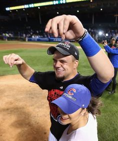 Kyle Schwarber, CHC///CUBS WIN the NLDS v STL, Oct 12, 2015
