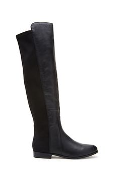 Faux Leather Over-the-Knee Boots | FOREVER 21 - 2000129973