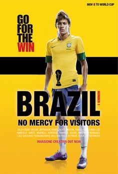 MOV(i)E TO WORLD CUP on Behance, Brazil