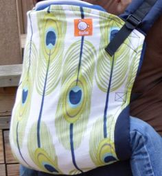 Canvas - Sweet Pea Boutique Exclusive 'OCELLUS' Tula Baby Carrier; Released December 2014