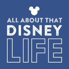 Check out this awesome 'All+About+That+Disney+Life' design on @TeePublic!