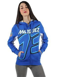 Women's sweatshirt from the Alex Marquez collection with adjustable hood.