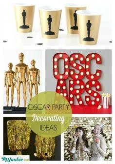 Oscar Party Decorating Ideas