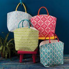 Fortaleza Jute Tote Bag | The Shopping Bag