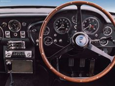 1963 Aston Martin DB5 - Interior