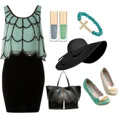 Such a high class outfit, I'm absolutely in love with the top and shoes.. Totally Blair Waldorf kind of outfit ;)