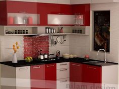 Excellent No Cost modular Kitchen Cabinets Concepts Your kitchen cabinets set the stage for the styling and look of your kitchen, along with how well or Kitchen Cabinet Interior, Kitchen Cupboard Designs, Kitchen Room Design, Modern Kitchen Cabinets, Kitchen Cabinet Colors, Modern Kitchen Design, Interior Design Kitchen, Kitchen Decor, Kitchen Cabinets Laminate