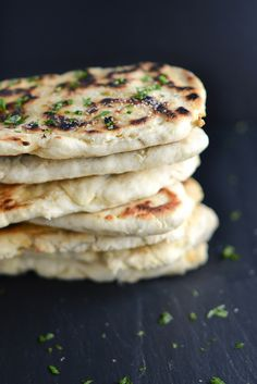 Homemade Naan {Indian Leavened Flatbread} | Things I Made Today