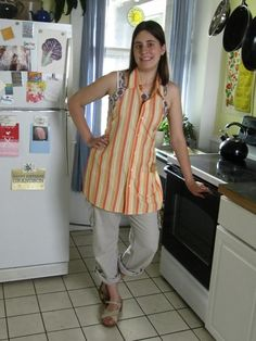 Refashioned Apron Tutorial - From Shirt to Apron.... excellent, detailed instructions