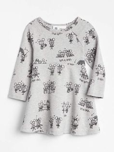 a1c9d6252fc6 babyGap Disney Minnie Mouse and Mickey Mouse Dress   celebrates Mickey create Cute Toddler