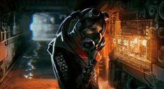 Cyberpunk, character, cyber girl, hacker, sci-fi, future, interactive wall, cyberpunk girl, digital art, futuristic lifestyle by FuturisticNews.com