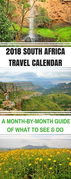 2018 South Africa Travel Calendar: Where to Visit and What to do When African Holidays, South Africa Safari, Africa Destinations, Holiday Destinations, Travel Destinations, South America Travel, Travel Light, Africa Travel, Places To Travel