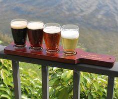 Personalized Beer Flight Set - Wedding gift, Groomsmen gift, housewarming gift and beer lover gift on Etsy, $39.00