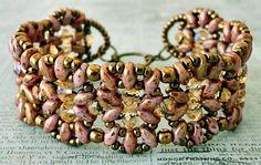 Linda's Crafty Inspirations: Bracelet & Earrings Set - India & Marquesa