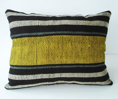 Sukan / Hand Woven - Turkish Antique Kilim Pillow Cover | Love it.