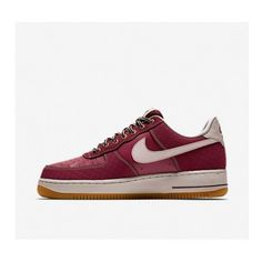 Best Nike Air Force 1 Low Mens Shoes Embroidered Red 0305 6d672f6e761f6