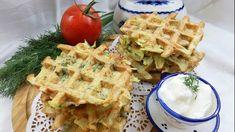 Картофельные вафли с зеленью, пошаговый рецепт с фото
