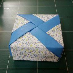 186.바람개비사각상자접기.종이접기.오월의장미