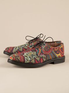 Topman shoes via costinm.com... Tacky and gorgeous all at the same time.