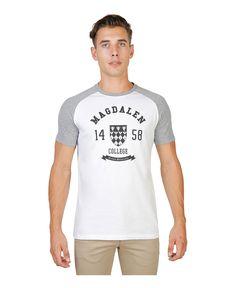 T-shirt girocollo a maniche corte raglan in colore a contrasto - 100% cotone b143223c5ae