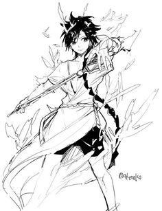 Magi Manga Magi, Anime Magi, Manga Anime, Cute Anime Boy, Anime Guys, Magi Kingdom Of Magic, Aladdin Magi, Sinbad Magi, 7 Sins