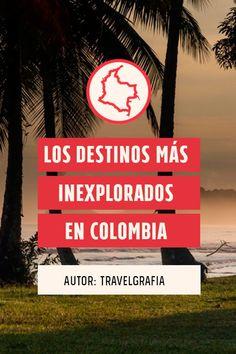 El 2019 sí sera el año en el que cumplas tus propósitos, tenemos buen olfato y sabemos que uno de ellos es viajar por este hermoso país, por eso hemos elegido 11 lugares para que descubras los destinos más inexplorados en Colombia. Colombian Culture, Cat Info, Travel Checklist, Trekking, Travel Destinations, Places To Go, Things To Do, Around The Worlds, Adventure