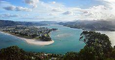 The Tairua estuary, New Zealand