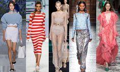 10 Tendencias de moda para la primavera verano 2016