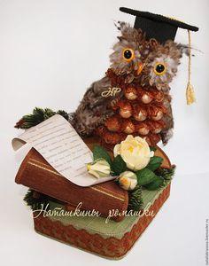 Graduation Decorations, Flower Decorations, Chocolate Art, Ideas Para, Diy Gifts, Gingerbread, Girly, Teddy Bear, Christmas Ornaments
