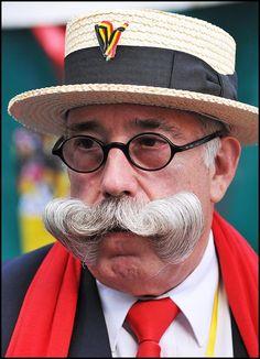 moustachu de Bruxelles, portrait
