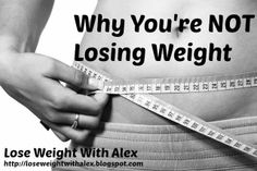 Are you struggling to lose weight? Many people do, but there could be a really good reason.  This article takes you through the main five reasons you're finding it hard to lose weight, despite eating healthily and exercising.