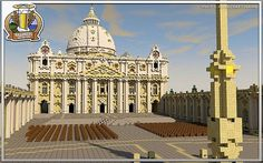 St. Peters Basilica Minecraft World Save