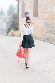 cute dress & high bun <3