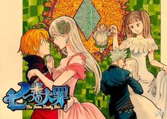 I ship Elizabeth with Meliodas, Ban with Elaine and Diane with King. I ship it all!!!