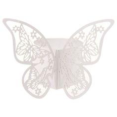 50 pz farfalla di carta di anelli di tovagliolo per la cerimonia nuziale decorazione festa di nozze favori quattro colori per il vostro scelto